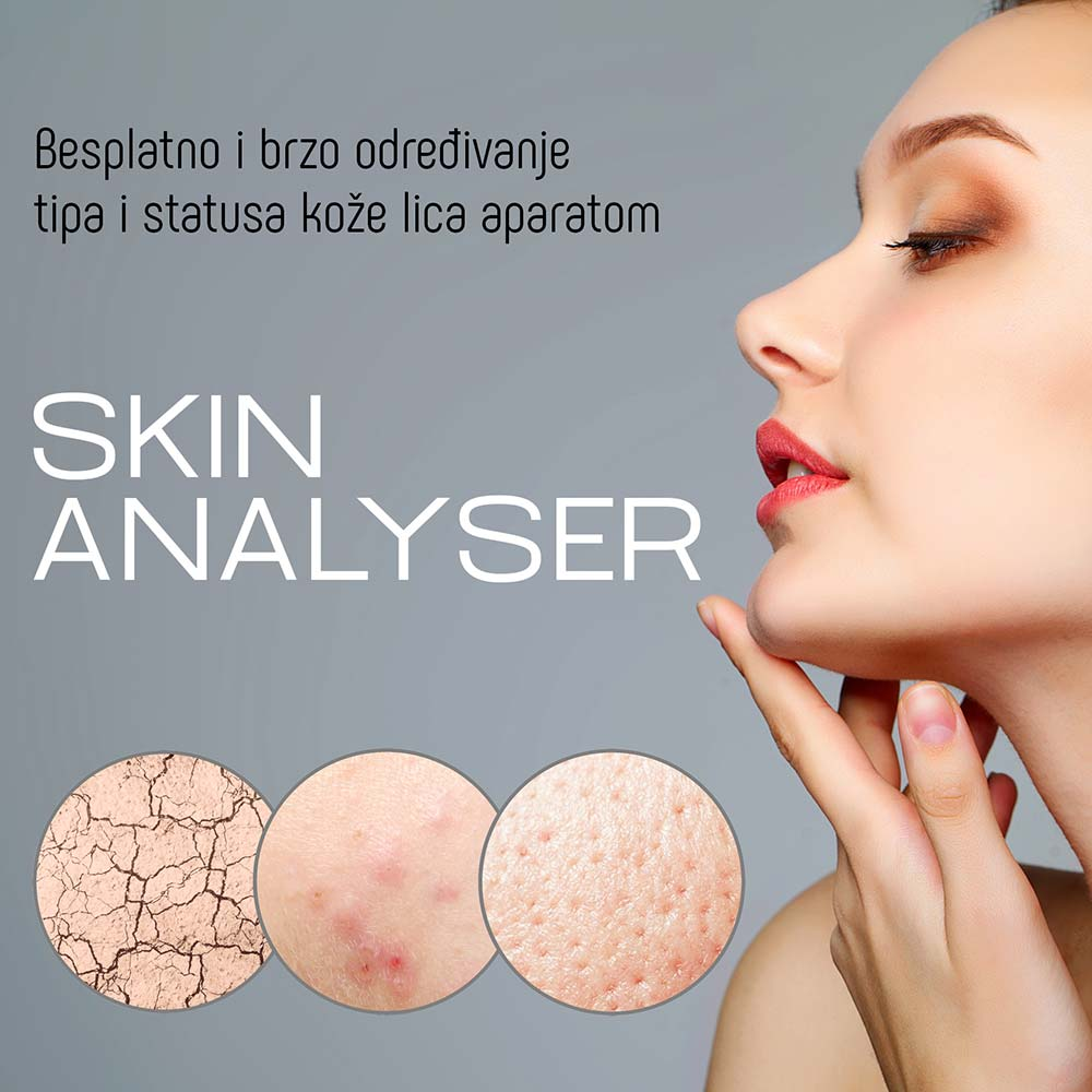 Skin analyser expera pharmacy apoteke